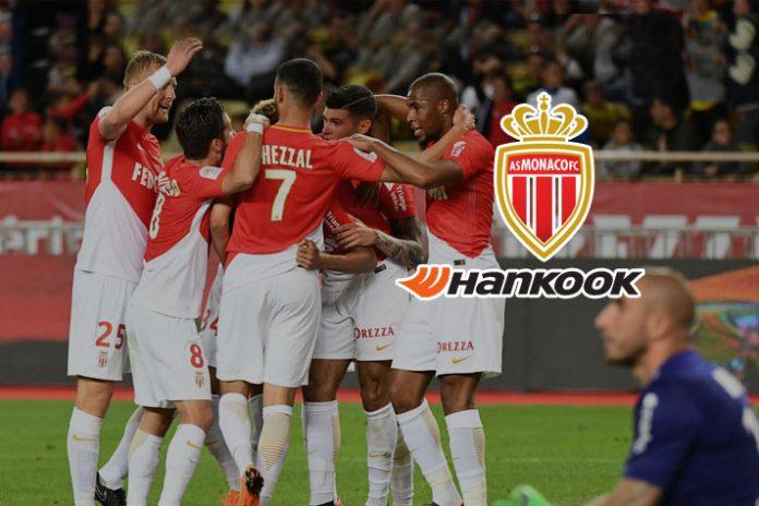 AS Monaco signs sponsorship deal,As Monaco sponsor deal,partnership deal with South Korean,AS Monaco Deal with Hankook Tyre,Ligue 1 club AS Monaco