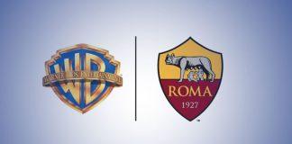 Italian football club AS Roma,football club AS Roma partnership,As Roma partnership with Warner Bros,Warner Bros latest patnership,as roma