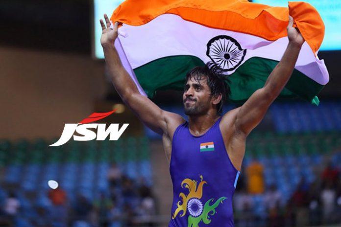 Indian wrestler Bajrang Punia,Bajrang Punia signed JSW Sports,JSW Sports,World Championships in Budapest,Bajrang Punia