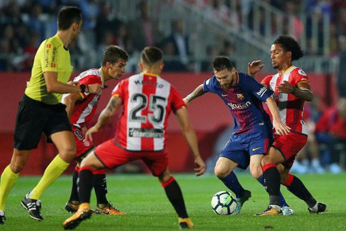LaLiga clubs Barcelona,laliga north america games,LaLiga clubs Barcelona and Girona,Royal Spanish Football Federation Matches,matchday 21 fixture Miami's Hard Rock Stadium