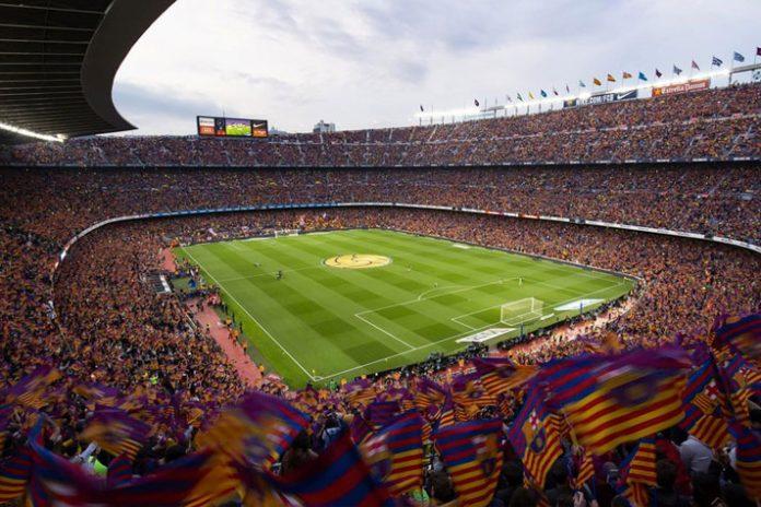 change in barcelona official crest,barcelona profit 2018-19,barcelona record revenue 2018-19,barcelona revenue 2018-19,Spanish football giants FC Barcelona