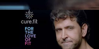 cure.fit campaign,cure.fit #ForTheLoveOfFit,cure.fit brand ambassador,fitness tech startups,cure.fit