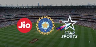 Jio TV Live cricket Match,Star india media rights BCCI,reliance jio telecast BCCI Matches Live,bcci deal with JIO TV,reliance jio tv Watch Cricket Matches