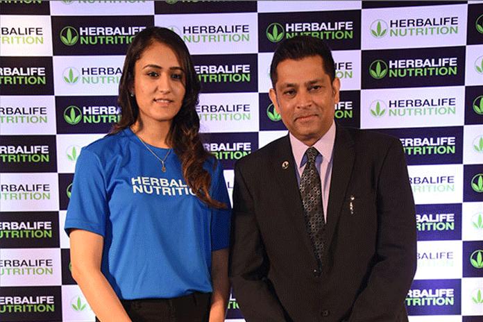 Manika joins Saina, Mary Kom, Virat in Herbalife Nutrition