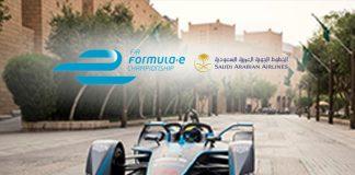saudia ad diriyah e-prix,FIA Formula E,Saudi Arabian Airlines partner of Formula E,ABB FIA Formula E Championship,FIA Formula E Championship Season 5