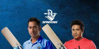Mahendra Singh (MS) Dhoni bat logo,ms Dhoni Sponsorships,Spartan Kunal Sharma news,sachin tendulkar Sponsorships,Spartan logo deal with ms dhoni
