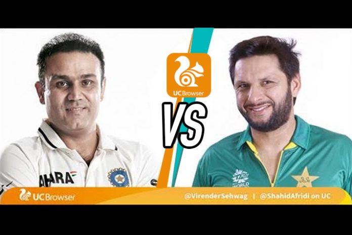 Asia Cup 2018,UC Browser live streamed chats Asia Cup 2018,Asia Cup 2018 live streamed chats,live streamed chats with Shahid Afridi,Virender Sehwag,Asia Cup 2018 India Pakistan Match