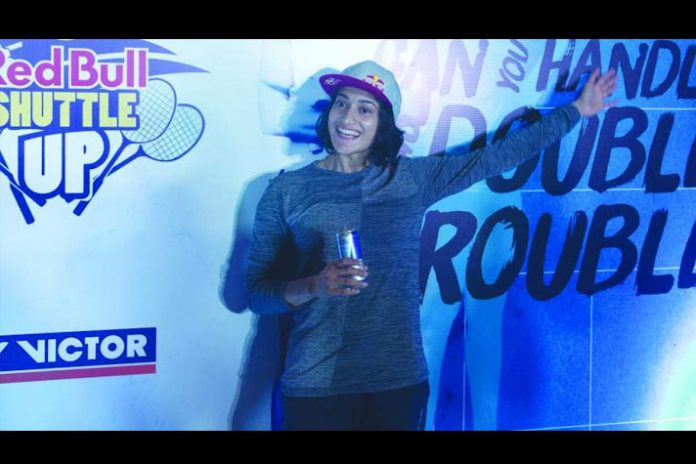 Ashwini Ponappa Red Bull Shuttle Up,Ashwini ponappa Red Bull tournament,Red Bull Shuttle Up,ashwini ponappa India's badminton player,Red Bull women's doubles tournament in India