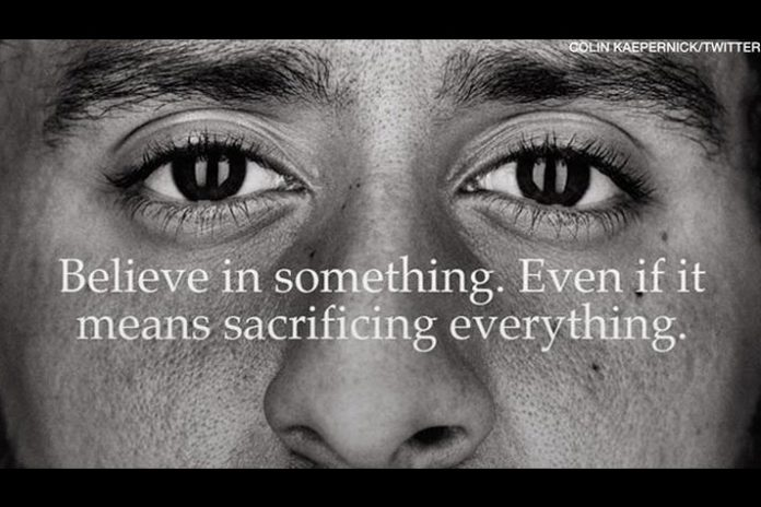 colin kaepernick Nike deal,colin kaepernick Nike campaign,colin kaepernick nike controversy,colin kaepernick nike deal,colin kaepernick