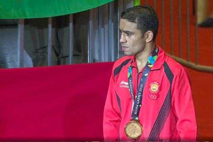 Amit Panghal Arjuna Award,Amit Panghal Asian Games Gold Winner,Asian Games Amit Panghal,Arjuna Award Asian Gold Medal Winner,India's boxer Amit Panghal