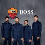 tottenham hotspur,as roma hugo boss,serie a sponsorships,as roma Hugo Boss partnership deal,hugo boss sponsorships