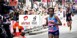 Tirunesh Diabba airtel delhi half marathon,Tirunesh Diabba,Delhi Half Marathon 2018,airtel delhi half marathon,airtel delhi half marathon 2018