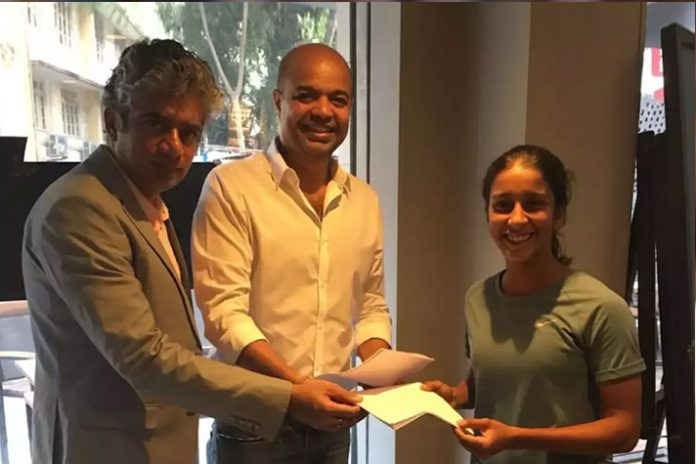 Jemimah Rodriques Baseline Ventures,talent management Baseline Ventures,sports management firms India,women cricketer Jemimah Rodrigues,Baseline Ventures signed Jemimah Rodrigues