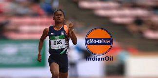 Star sprinter Hima Das,Hima Das join Indian Oil Corporation,Hima Das IOC Family member,Hima Das as officer in Indian Oil Corporation,indian oil join hima das