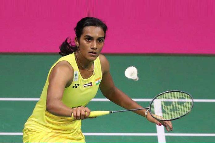 Star Indian shuttler PV Sindhu,Denmark Open 2018,American Beiwen Zhang,Denmark Open badminton PV Sindhu,PV Sindhu Denmark Open