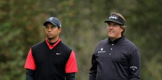 turner sports,shadow creek course las vega,tiger woods vs phil mickelson,phil mickelson,tiger woods