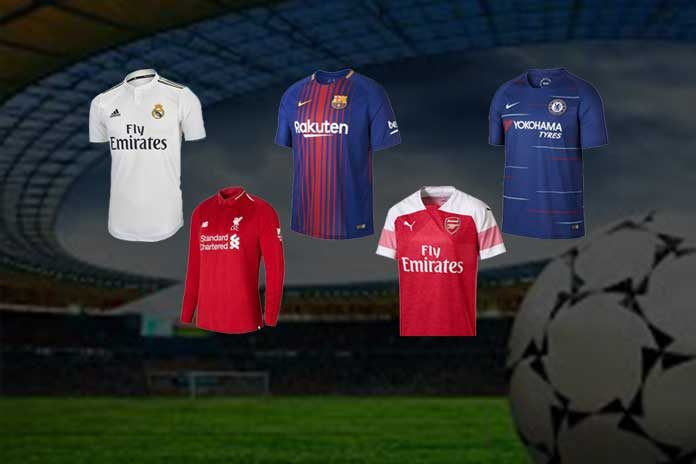 From  125 million to  25 million – football s top 10 kit sponsorship deals 88eab4f40