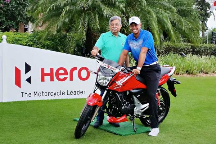Hero MotoCorp Tiger Woods,Hero Tiger Woods Partnership,Hero MotoCorp partnerships,Tiger Woods Hero MotoCorp's,Hero MotoCorp's Global Corporate Partner
