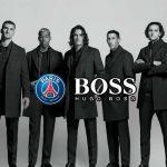 Hugo Boss PSG official tailor partner,PSG official tailor partner,Paris Saint-Germain Hugo Boss partnership,UEFA Champions League matches,PSG partnerships