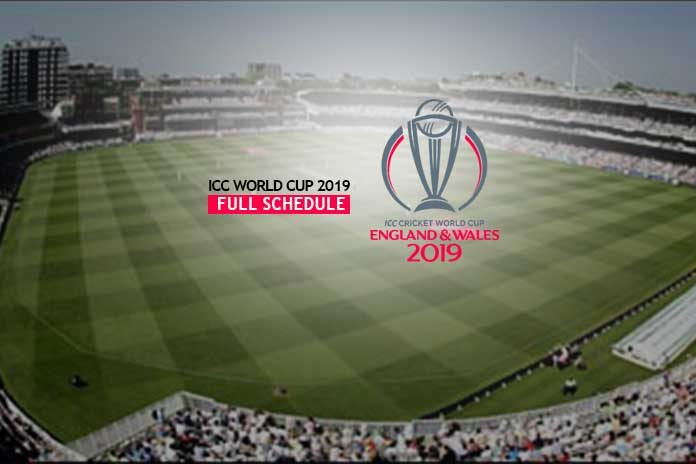 ICC World Cup,ICC World Cup schedule,Cricket World Cup 2019 schedule,Watch live ICC World Cup,ICC Cricket World Cup 2019