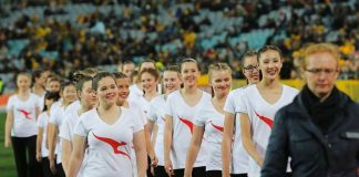 Australia India Test Series,Qantas Choir Cricket Australia,Australia Girls Choir,India Australia Test Match,Australian cricket board