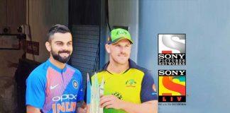 India Australia Series Sponsors,Sony Pictures Network India,India vs Australia Series,India vs Australia T20 Series,India vs Australia Series Sony Liv
