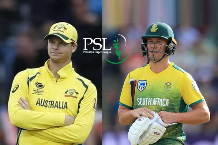 Psl Draft Lahore Picks Devilliers Smith Bought By The Sixth Team