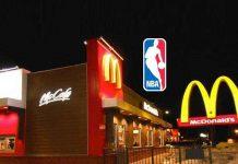 NBA McDonald's,NBA promotions,McDonald's partnerships,National Basketball Association McDonald's partnership,NBA Sponsorships