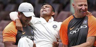 Cricket Australia,Prithvi Shaw Century,Indian Cricket team,Prithvi Shaw's injury,Prithvi Shaw
