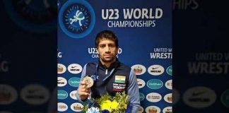 Ravi Kumar UWW U-23 world wrestling,United world wrestling,UWW U-23 World Wrestling,2018 Under-23 World Men's Championships,Under-23 World Men's Freestyle Championships