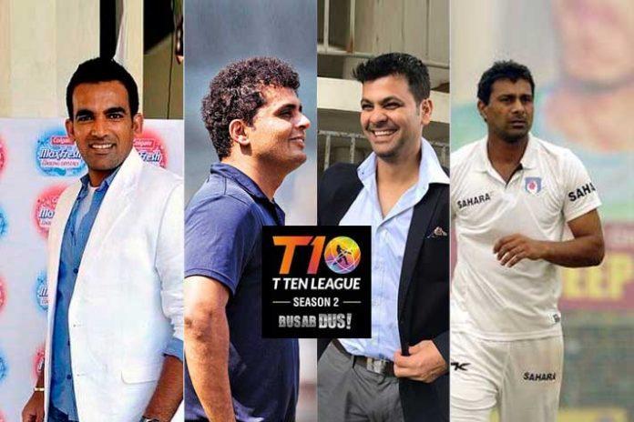 T-10 League Indian stars,Zaheer Khan T10 League,Reetinder Sodhi T10 League,Pravee Kumar T10 league,T10 League