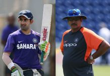Gambhir questions Shastri's achievements, hails Kumble