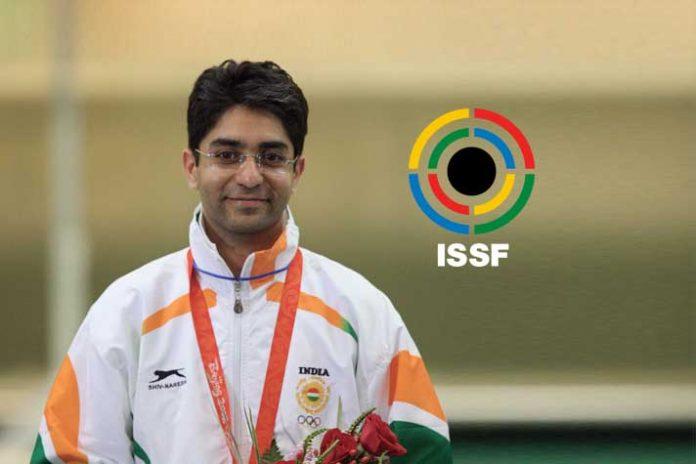 Boxing highest honour,ISSF highest honour,ISSF Abhinav Bindra,International Shooting Sport Federation,ISSF highest award