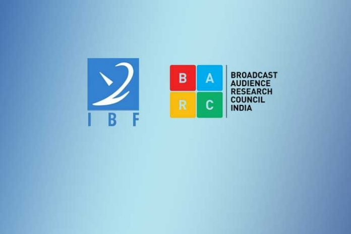 BARC Ratings,Broadcasters BARC Ratings,Indian Broadcasting Foundation,Broadcast Audience Research Council,BARC Rating India