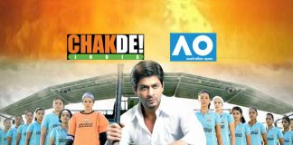Chak De India,Chak De India Australian Open,Australian Open,Australian Open Sports Film Festival,Sports Film Festival