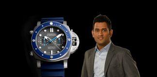 Paneri Watch,Mahendra Singh Dhoni,Paneri Brand Ambassador,MS Dhoni Brands,Brand Ambassador in India