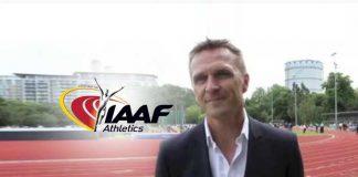 IAAF Jon Ridgeon,IAAF New CEO,IAAF commercial rights,IAAF President,IAAF Diamond League Series