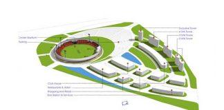 Cricket Stadium Dallas,Cricket in Dallas,Thakkar Developers,Global Sports Ventures,professional cricket league
