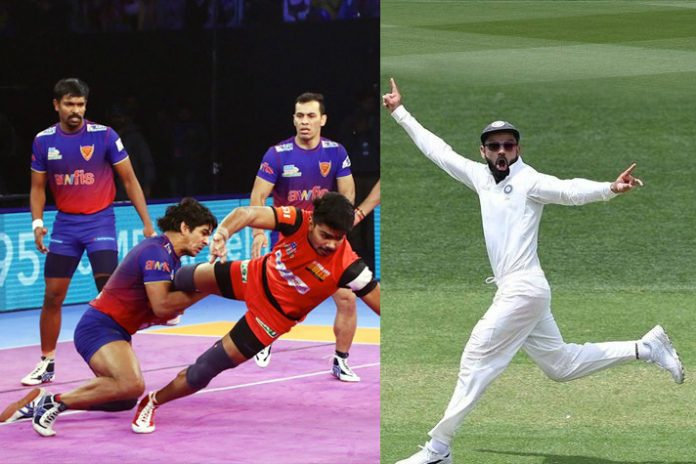 Pro Kabaddi,Star Sports,Star India,Adelaide Test,India Television Ratings