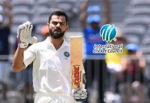 Virat Kohli Ranking,ICC Test Rankings,ICC Player Rankings,Kohli ICC Ranking,MRF Tyres ICC Test Player Rankings