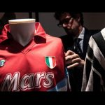 Diego Maradona,Maradona Jersey,Maradona Charity,Maradona Red Shirt,Maradona Serie A club