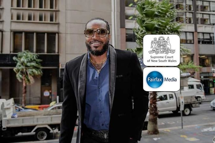 Chris Gayle defamation damages,Chris Gaye awards,Christ Gayle Fairfex Media,Chris Gayle defamatory article,NSW Supreme Court