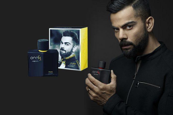 Virat Kohli One8 Fragrances,Virat Kohli brands,One8 Fragrances,Virat Kohli perfumes,Virat Kohli Brand and Collection