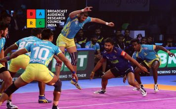BARC Ratings,Star Sports BARC Rating,Sony Ten BARC Rating,Sony Six BARC Rating,Pro Kabaddi BARC Rating