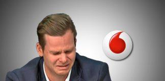 Steve Smith,Steve Smith Vodafone,Steve Smith Ball Tampering,Vodafone Australia,ball tampering case