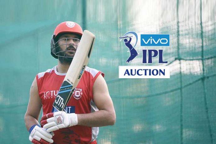 IPL Player Auction,Yuvraj Singh IPL Auction,IPL Auction Short list,Indian Premier League,IPL Season 12