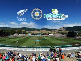 India tour of New Zealand,India New Zealand Series,India New Zealand Series Title Sponsor,Netmeds,India New Zealand ODI Series