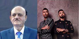 Hardik Pandya,K L Rahul,Hardik Pandya Suspension,BCCI CoA,BCCI president