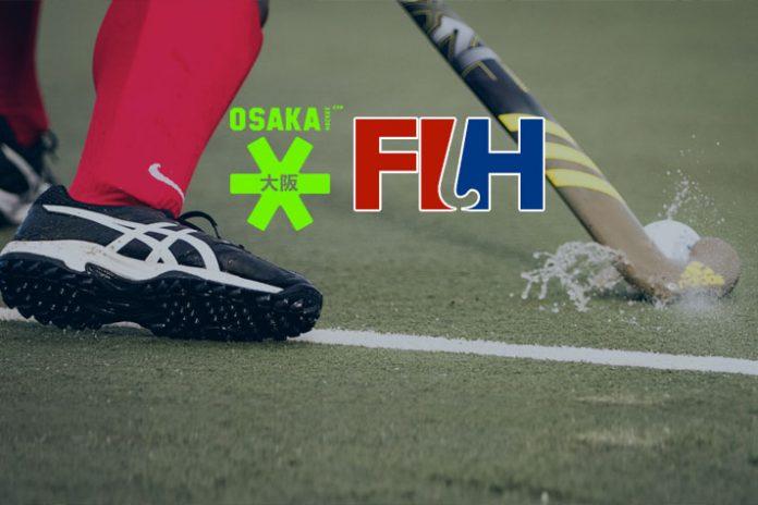 International Hockey Federation,FIH Partnerships,Osaka Partnerships,Osaka fashion Wear,Hockey India