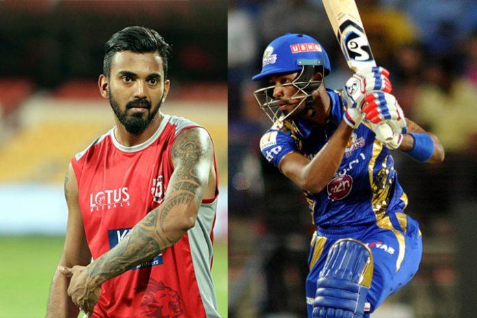 Indian Premier League,IPL 2019,Hardik Pandya Mumbai Indians,KL Rahul IPL,Kings XI Punjab